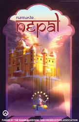 Namaste Nepal by stephahaha