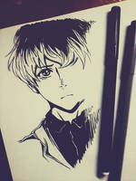 #Tokyo Ghoul. Sasaki Haise. by Matthew-Ray