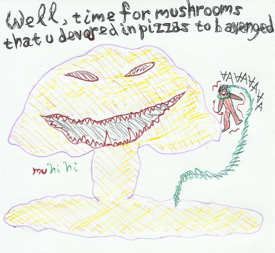 mushroom MUSHROOM by Trancedeliquist