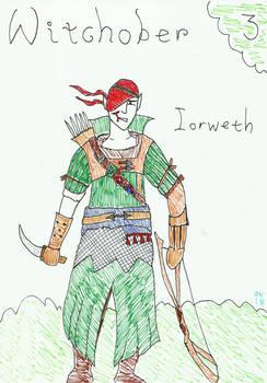 INKTOBER 2018: Witchober 3 - Iorweth