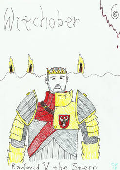 INKTOBER 2018: Witchober 6 - Radovid V the Stern