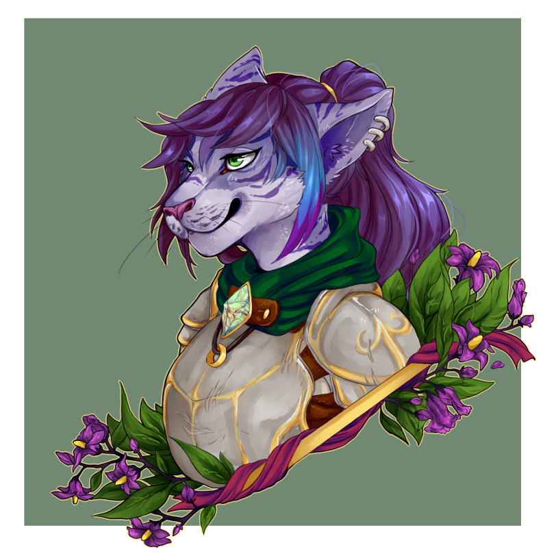[C] Deadly Nightshade by Poifish