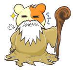 God Hamster by Arukanun