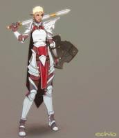 Comm: Warrior by Echilo
