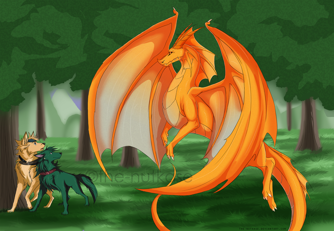 DQ: Golden Dragon by The-Nutkase