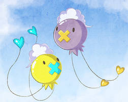 Pokecember Day 4: Drifloon by NutkaseCreates