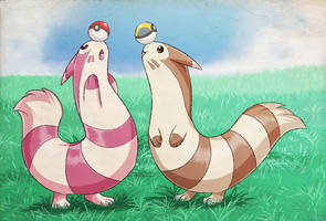 Pokecember Day 7: Furret by NutkaseCreates