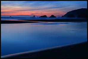cannon beach by thinking-fish