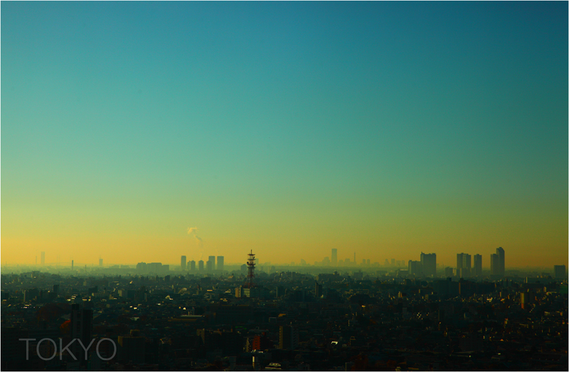 Tokyo by thinking-fish