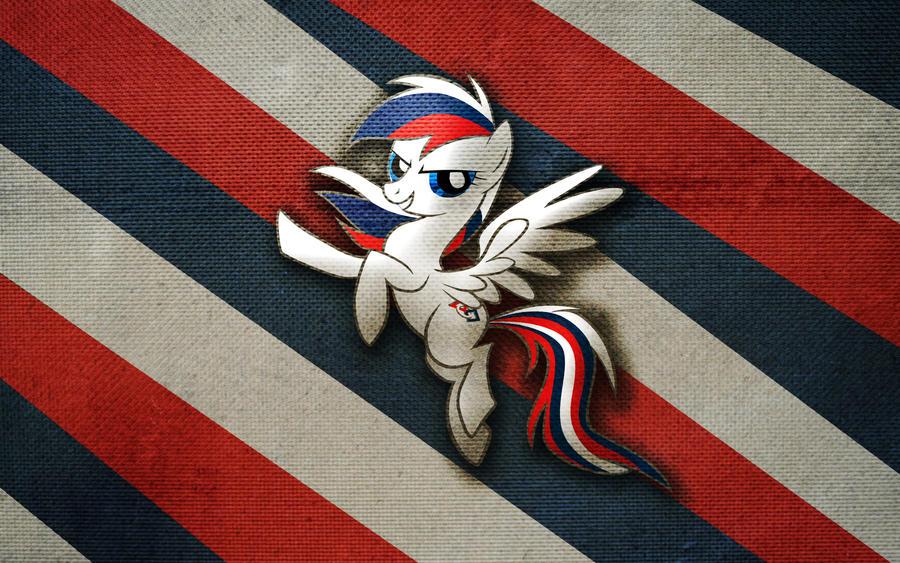 FIRST Pony wallpaper v1 by Aeniug2