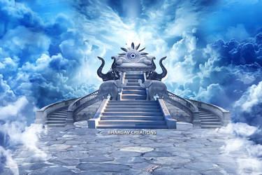 The Throne of Indra (Indrasana) by Bhargav08
