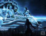 When Shiva sees the Mahavishnu