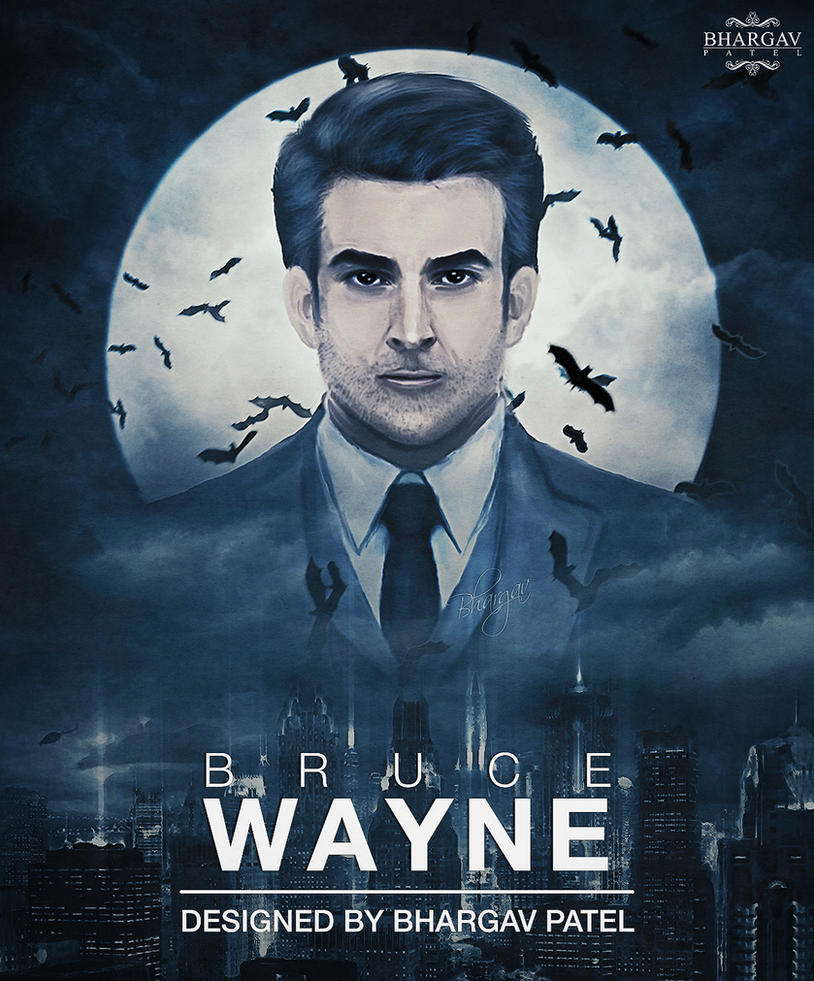 Bruce Wayne by Bhargav08