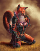 Sexy fox by CreativeCookie777