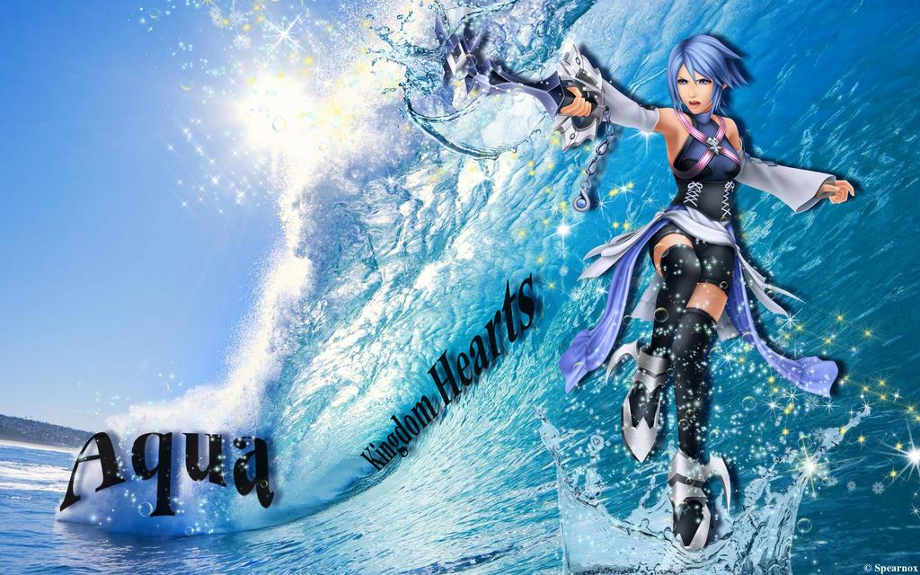Kingdom Hearts Aqua Wallpaper Aqua - Kingdom Hearts ...