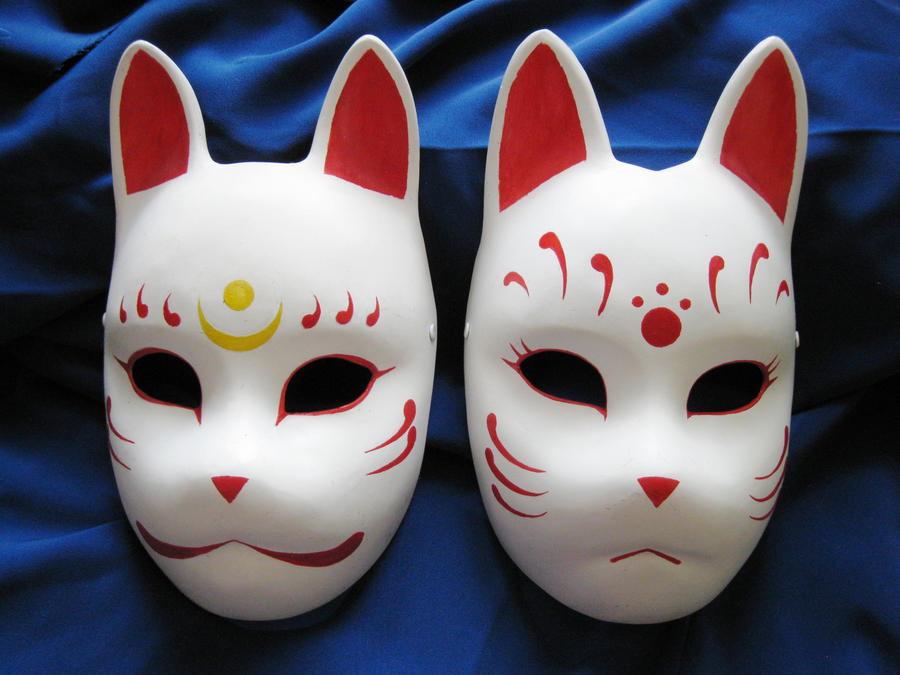 Fox Masks 2 By Mishutka On Deviantart