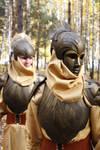 Deva LARP armour set