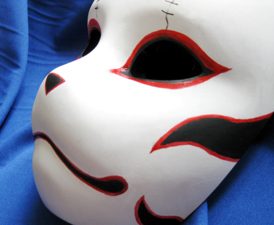 ANBU Mask 1 by Mishutka on DeviantArt