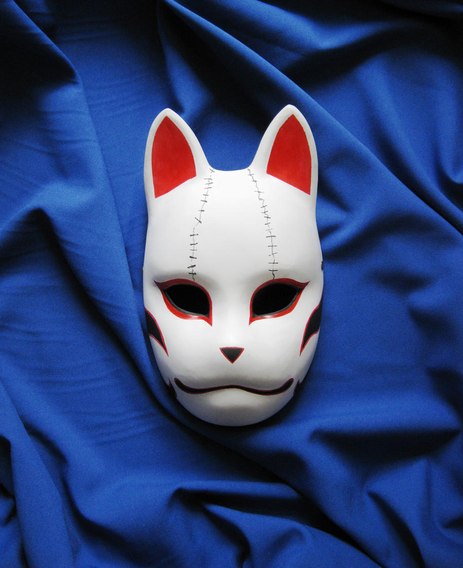 anbu mask by mishutka artisan crafts costumery masks 2011 2015    How To Make A Anbu Mask