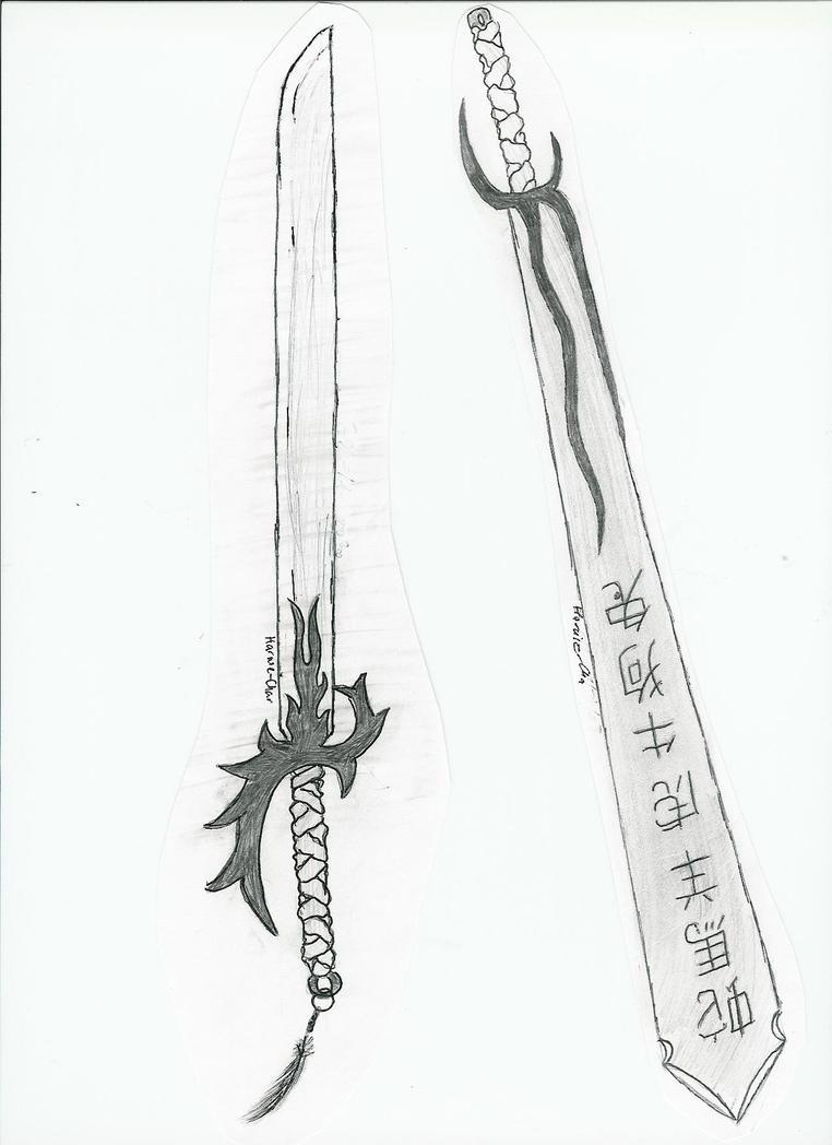Dual Swords by haruie-chan on DeviantArt