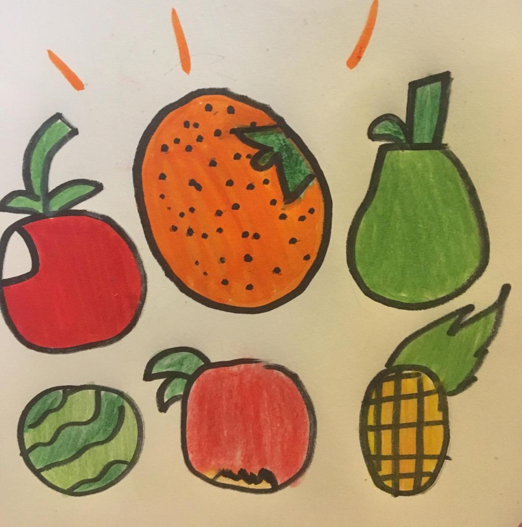 I love Fruit by GameyGemi
