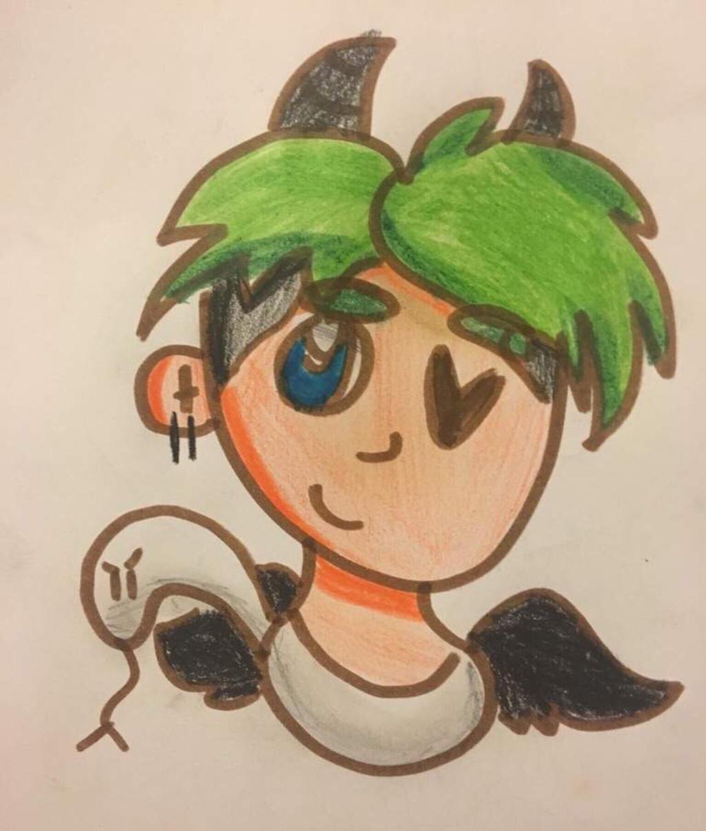 Fan Art of Snake Boi! by GameyGemi
