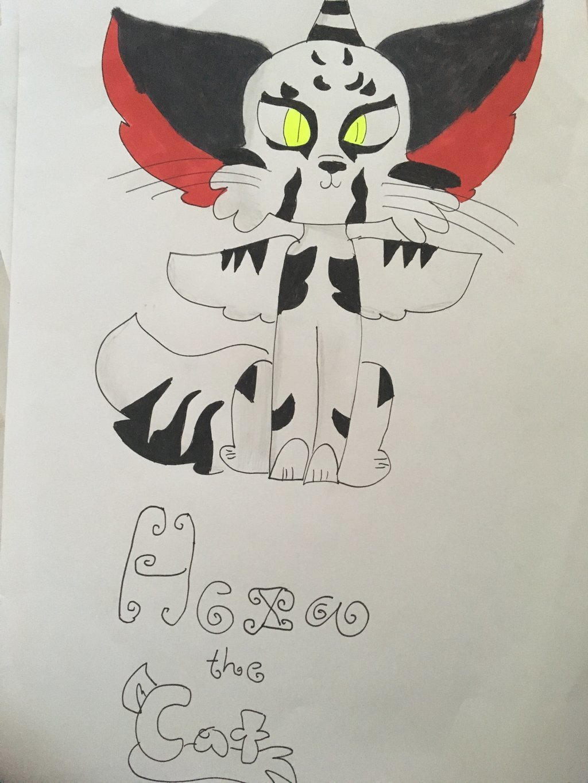 Hexa The Cat by GameyGemi