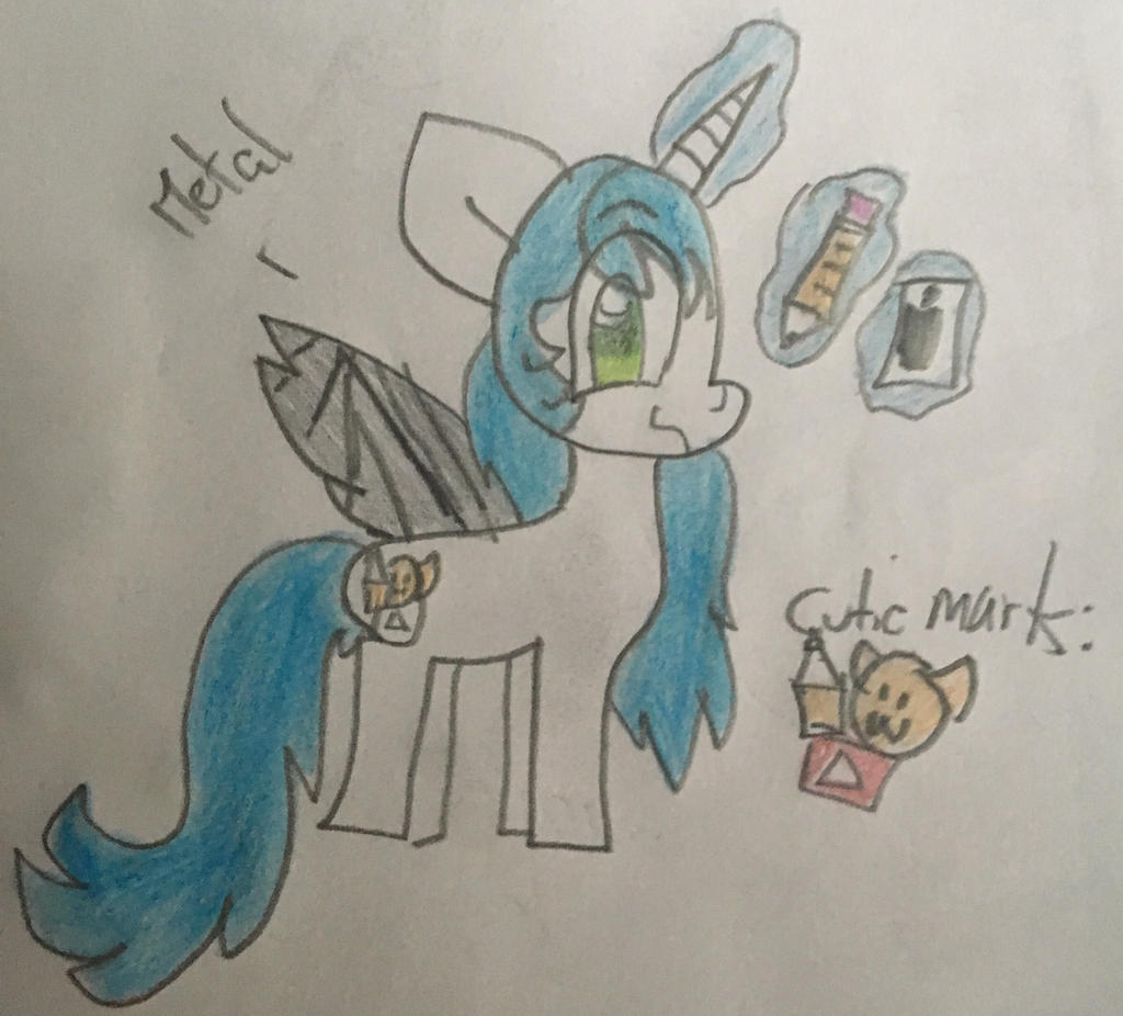 Katy (PonySona) by GameyGemi