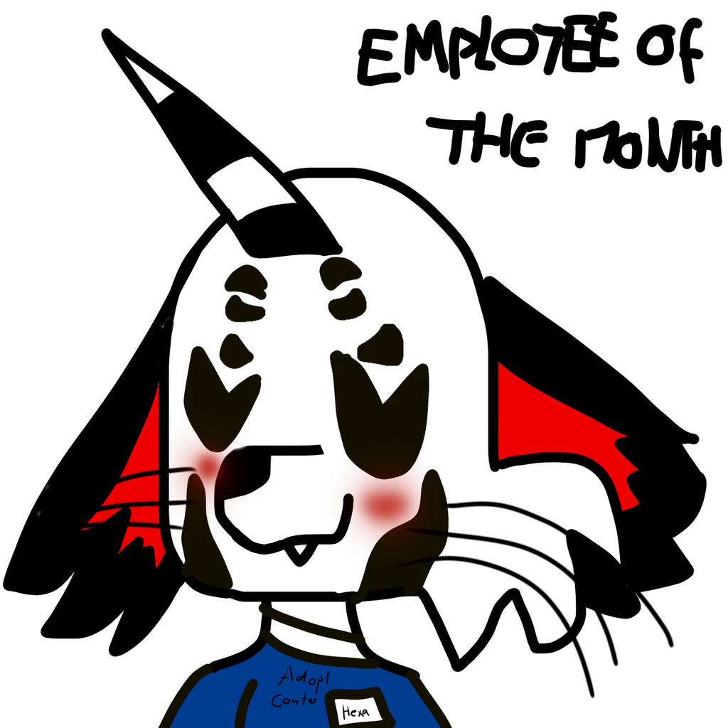 Employee of the month by GameyGemi