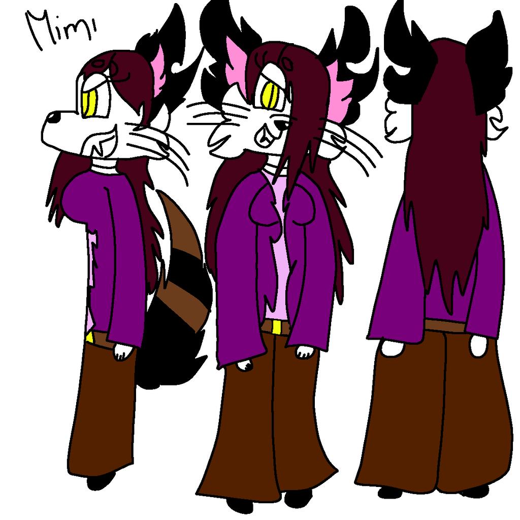 Mimi's bad side ref by GameyGemi