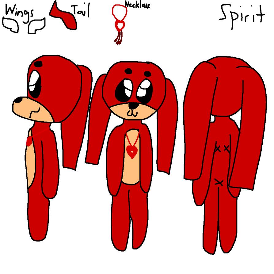 Spirit Chibi Ref by GameyGemi