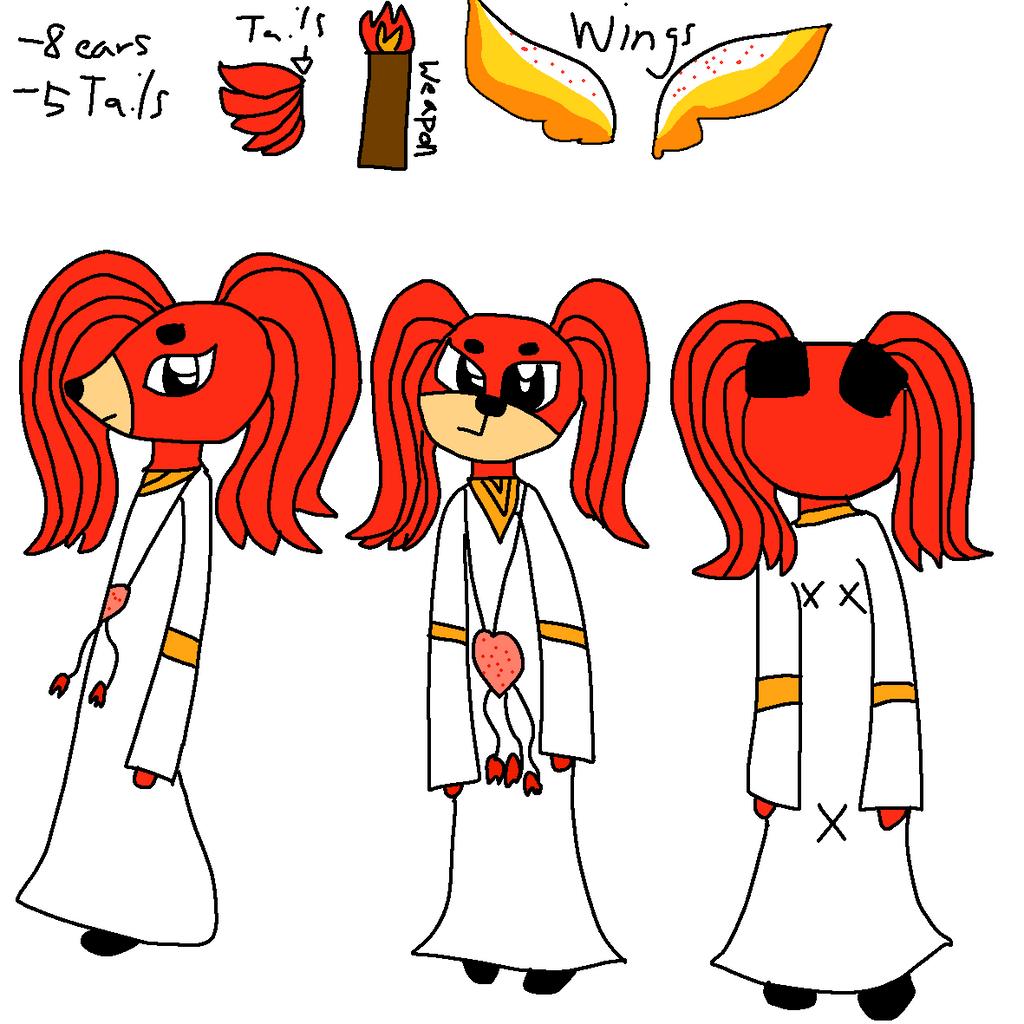 Spirit God Ref by GameyGemi