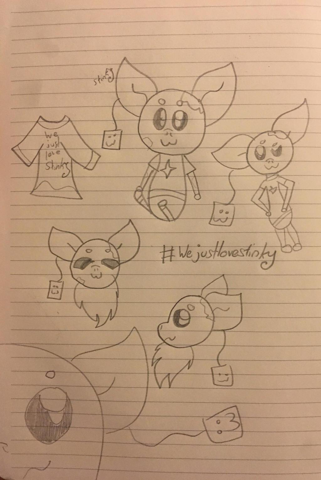 Stinky Sketch by GameyGemi