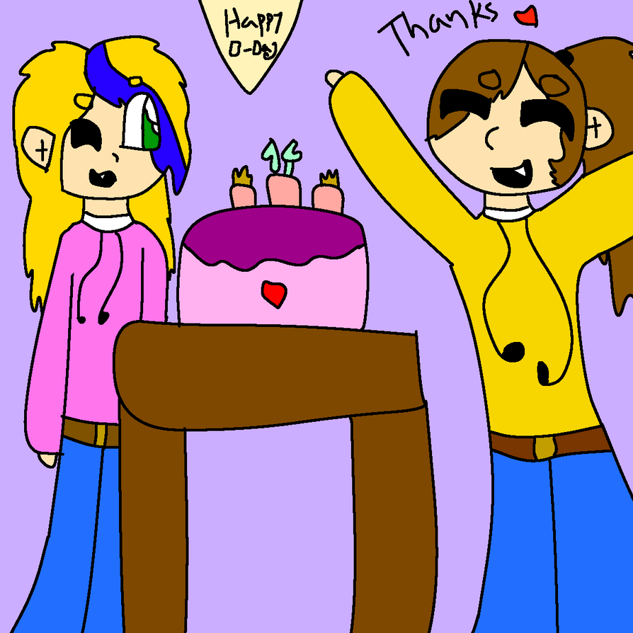 Happy Birthday to me! by GameyGemi