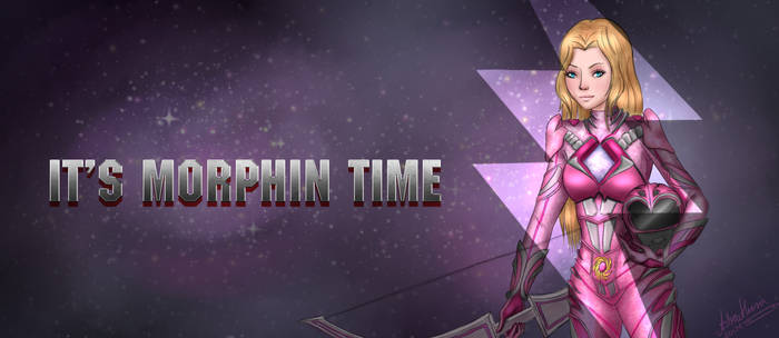 It's Morphin Time