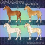Horse Adoptable Batch - 22