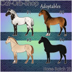 Horse Adoptable Batch - 25
