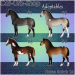 Horse Adoptable Batch - 26