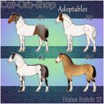 Horse Adoptable Batch - 27