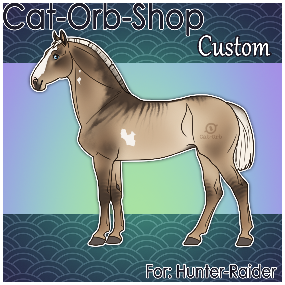 Horse Custom | Hunter-Raider