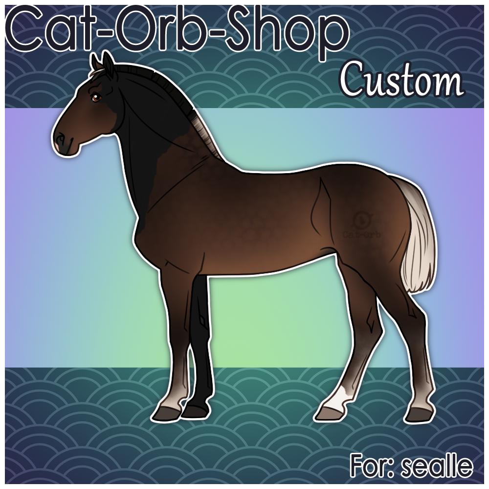 Horse Custom   sealle