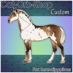 Horse Custom | Serendipppitous