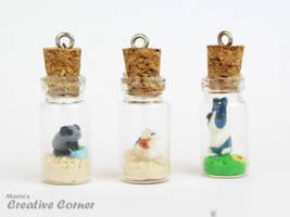 Pets in bottles by Maria-M--aka--Bakura