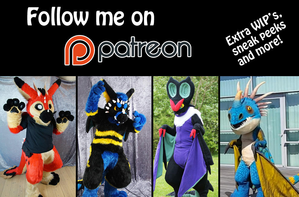 Follow me on Patreon