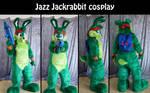 Jazz Jackrabbit cosplay