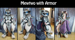 Mewtwo with armor cosplay