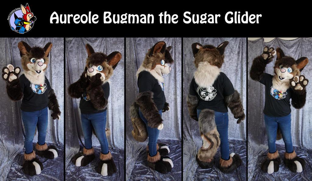 Aureole Bugman the Sugar Glider by Maria-M--aka--Bakura