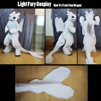 Light fury cosplay