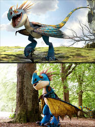 Stormfly - Cosplay vs Reference