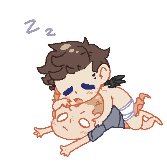 sleepy by BlueMagnet